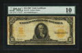 Large Size:Gold Certificates, Fr. 1172 $10 1907 Gold Certificate PMG Very Good 10....