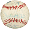Baseball Collectibles:Balls, 1984 Chicago Cubs Team Signed Baseball....