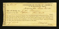 Confederate Notes:Group Lots, Confederate States of America Depository Receipt $1300 Mar. 21,1864. ...