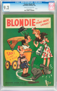 Feature Books #40 Blondie (David McKay Publications, 1944) CGC NM- 9.2 Cream to off-white pages