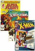 Modern Age (1980-Present):Superhero, X-Men Related Group (Marvel, 1982-89) Condition: Average NM....(Total: 42 Comic Books)