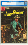 Silver Age (1956-1969):Western, Lone Ranger #99 File Copy (Dell, 1956) CGC NM 9.4 Off-white towhite pages....