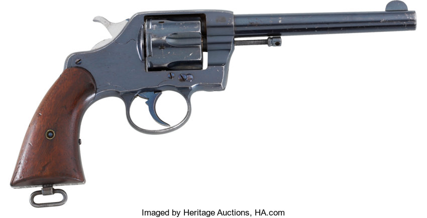 colt new army revolver model 1901 cal 38 serial number 3680