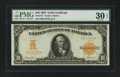 Large Size:Gold Certificates, Fr. 1172 $10 1907 Gold Certificate PMG Very Fine 30 EPQ....