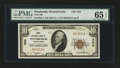 National Bank Notes:Pennsylvania, Pittsburgh, PA - $10 1929 Ty. 1 The First NB Ch. # 252. ...