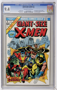 Giant-Size X-Men #1 Off-white to white pages (Marvel, 1975) CGC NM 9.4