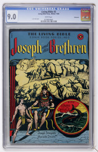 Living Bible #2 Vancouver pedigree (Living Bible Corp., 1945) CGC VF/NM 9.0 White pages