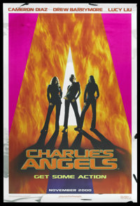 "Charlie's Angels (Columbia, 2000). One Sheet (27"" X 40"") Foil Advance. SS"