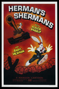 "Movie Posters:Animated, Herman's Shermans (Disney, 1988). One Sheet (27"" X 41""). ..."