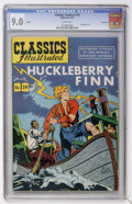 Golden Age (1938-1955):Miscellaneous, Classics Illustrated #19 Huckleberry Finn HRN 60 - Vancouver pedigree (Gilberton, 1949) CGC VF/NM 9.0 White pages....