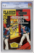 Golden Age (1938-1955):Classics Illustrated, Classics Illustrated #74 Mr. Midshipman Easy First Edition - Vancouver pedigree (Gilberton, 1950) CGC VF/NM 9.0 White pages....
