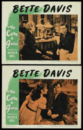 "Movie Posters:Drama, The Corn Is Green (Warner Brothers, 1945). Lobby Cards (2) (11"" X 14""). Drama.... (Total: 2 Items)"