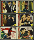 "Movie Posters:Crime, Sworn Enemy (MGM, 1936). Title Lobby Card and Lobby Cards (5) (11""X 14""). Crime.... (Total: 6 Items)"