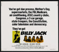 """Movie Posters:Action, Billy Jack (Warner Brothers, 1971). Half Sheet (22"""" X 28""""). Action...."""