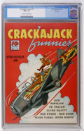 Golden Age (1938-1955):Adventure, Crackajack Funnies #21 File Copy (Dell, 1940) CGC NM+ 9.6 Cream to off-white pages....