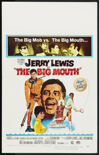 "The Big Mouth (Columbia, 1967). Window Card (14"" X 22""). Comedy"
