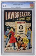 Golden Age (1938-1955):Crime, Lawbreakers Always Lose! #1 (Marvel, 1948) CGC VF/NM 9.0 Off-white pages....