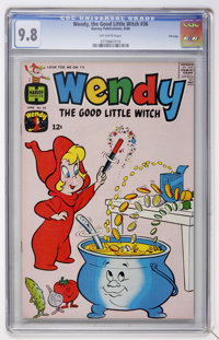 Wendy, the Good Little Witch #36 File Copy (Harvey, 1966) CGC NM/MT 9.8 Off-white pages