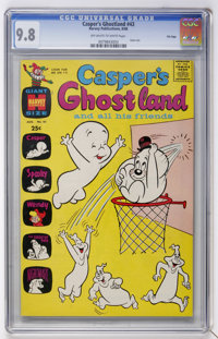 Casper's Ghostland #43 File Copy (Harvey, 1968) CGC NM/MT 9.8 Off-white to white pages