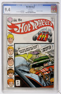 Bronze Age (1970-1979):Miscellaneous, Hot Wheels #1 (DC, 1970) CGC NM 9.4 White pages....