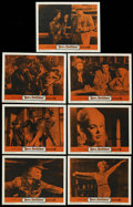 "Movie Posters:Bad Girl, Born Reckless (Warner Brothers, 1959). Lobby Cards (7) (11"" X 14"").Bad Girl. ..."