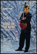 "Movie Posters:Rock and Roll, Bring on the Night (Samuel Goldwyn, 1985). One Sheet (27"" X 41"")Advance. Rock and Roll. Starring Sting, Branford Marsalis, ..."