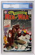 Silver Age (1956-1969):War, All-American Men of War #104 (DC, 1964) CGC NM 9.4 Off-white pages....