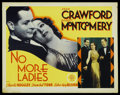 """Movie Posters:Comedy, No More Ladies (MGM, 1935). Half Sheet (22"""" X 28""""). Comedy. ..."""