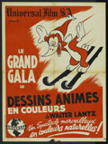 "Movie Posters:Animated, Woody Woodpecker Stock (Universal, 1946). French Petite (23.5"" X 31.5""). Animated. ..."