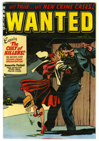 Wanted Comics #52 Mile High pedigree (Toytown , 1953) Condition: VF-