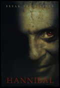 "Movie Posters:Crime, Hannibal (MGM, 2001). One Sheet (27"" X 40"") DS. Crime. StarringAnthony Hopkins, Julianne Moore, Gary Oldman, Ray Liotta, Fr..."