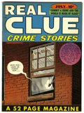 Golden Age (1938-1955):Crime, Real Clue Crime Stories V3#5 Mile High pedigree (Hillman Fall, 1948) Condition: NM-....