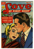 Golden Age (1938-1955):Romance, Love at First Sight #15 Mile High pedigree (Ace, 1952) Condition:VF/NM....