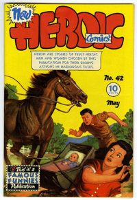 Heroic Comics #42 Mile High pedigree (Eastern Color, 1947) Condition: NM