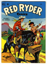 Red Ryder Comics #93 Mile High pedigree (Dell, 1951) Condition: NM+