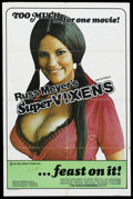 "Movie Posters:Adult, Supervixens (RM Films, 1975). One Sheet (27"" X 41""). Adult.Starring Shari Eubank, Charles Napier, Uschi Digard, Charles Pit..."