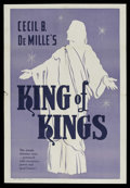 "Movie Posters:Historical Drama, The King of Kings (Pathe', R-1950s). One Sheet (27"" X 41""). Drama.Starring H.B. Warner, Dorothy Cumming, Ernest Torrence an..."