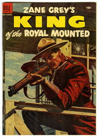 King of the Royal Mounted #16 Mile High pedigree (Dell, 1954) Condition: NM