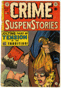 Golden Age (1938-1955):Crime, Crime SuspenStories #22 (EC, 1954) Condition: GD....