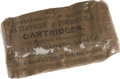 """Military & Patriotic:Civil War, Original Unopened Pack: """"Six Johnston & Dow's Waterproof & Combustible Cartridges Cal. 44-100 with Percussion Caps for Colt's ..."""