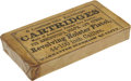 "Military & Patriotic:Civil War, Original Unopened Pack: ""6 Combustible Envelope Cartridges Made of American Powder Co.'s Powder for Remington's, Colt's and Ot..."
