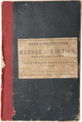 Military & Patriotic:Civil War, Very Rare Confederate Imprint: Rifle and Light Infantry Tactics; for the Exercise and Manoeuvers of Troops When Acting a...