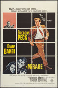 "Movie Posters:Mystery, Mirage (Universal, 1965). One Sheet (27"" X 41""). Mystery.. ..."