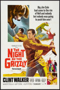 """Movie Posters:Adventure, The Night of the Grizzly (Paramount, 1966). One Sheet (27"""" X 41"""").Adventure.. ..."""