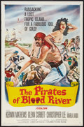 "Movie Posters:Adventure, The Pirates of Blood River (Columbia, 1962). One Sheet (27"" X 41"").Adventure.. ..."
