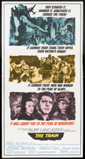 "Movie Posters:War, The Train (United Artists, 1965). Three Sheet (41"" X 81""). War....."
