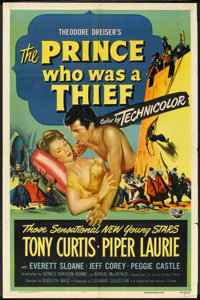 """The Prince Who Was a Thief (Universal International, 1951). One Sheet (27"""" X 41""""). Adventure"""