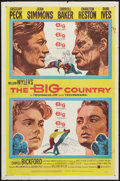 """Movie Posters:Western, The Big Country (United Artists, 1958). One Sheet (27"""" X 41""""). Western.. ..."""