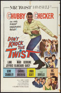 "Movie Posters:Rock and Roll, Don't Knock the Twist (Columbia, 1962). One Sheet (27"" X 41""). Rockand Roll.. ..."
