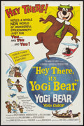"Movie Posters:Animated, Hey There, It's Yogi Bear (Columbia, 1964). One Sheet (27"" X 41""). Animated.. ..."